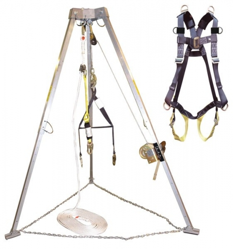 Confined space retrieval system