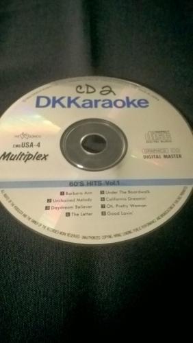Karaoke CD, 60's Hits Vol. 1