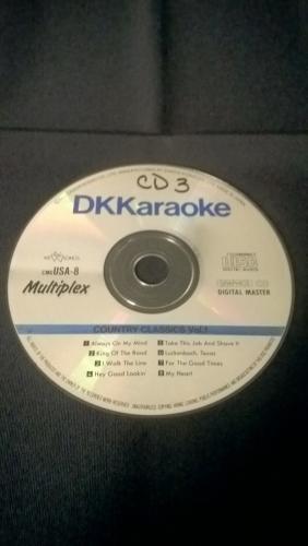 Karaoke CD, Country Classics Volum 1 (DK)
