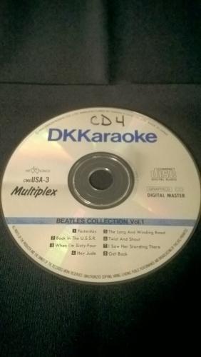 Karaoke CD, Beatles' Collection Vol. 1
