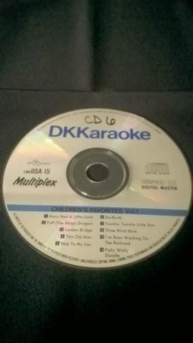 Karaoke CD, Children's Favorites Volume 1