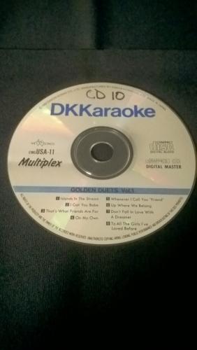 Karaoke CD, Golden Duets Volume 1
