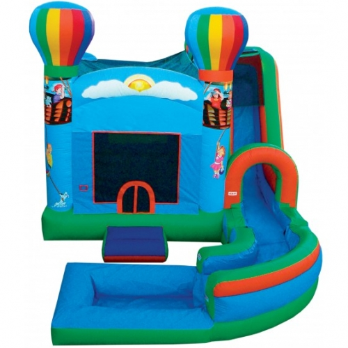 JUMP N SPLASH BOUNCE HOUSE COMBO w/ POOL