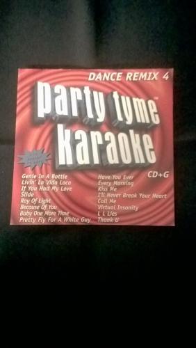 Karaoke CD, Dance Remix 4