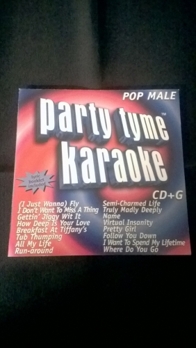Karaoke CD, Pop Male