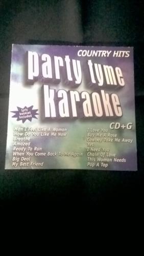Karaoke CD, Country Hits 1