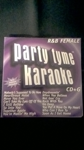 Karaoke CD, R&B Female