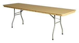 6' Plastic Rhino Banquet Table