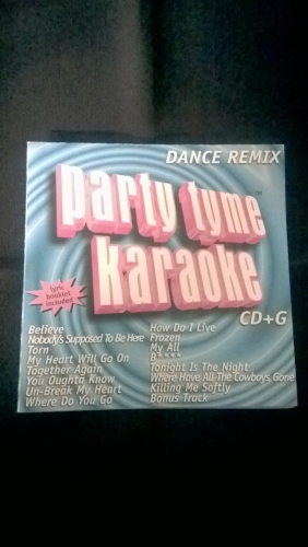 Karaoke CD, Dance Remix 1