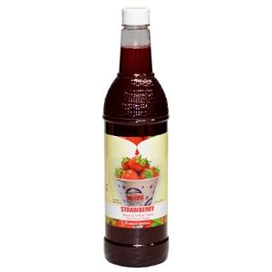 1-qt. Bottle of Sno-Kone® Flavor - Strawberry