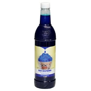 1-qt. Bottle of Sno-Kone® Flavor - Blue Raspberry