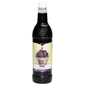 1-qt. Bottle of Sno-Kone® Flavor - Grape