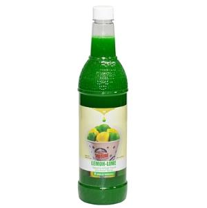 1-qt. Bottle of Sno-Kone® Flavor - Lemon-Lime