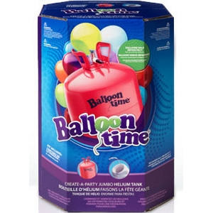 Balloon Time® Jumbo Create-A-Party Helium Cylinder