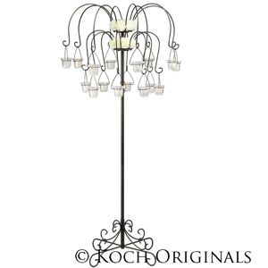 Koch Originals Medium Willow Tree Candelabra w/ 16 Lanterns