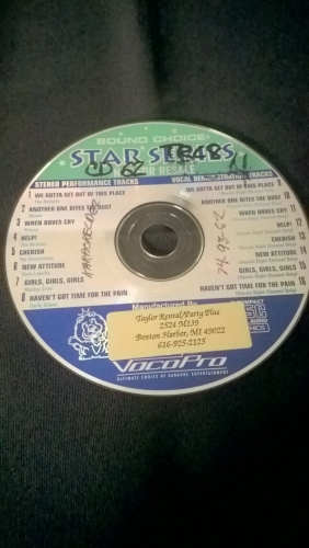 Karaoke CD, Oldies II (Star Series)