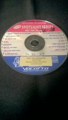 Karaoke CD, Gold Country