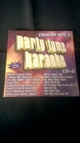 Karaoke CD, Country Hits 2