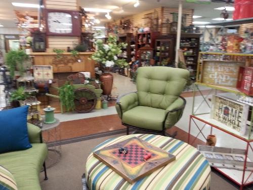 Ottoman & Chair Set