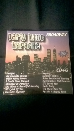 Karaoke CD, Broadway (Version 2)