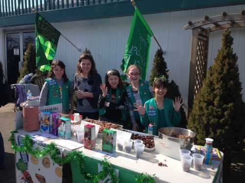 Girl Scout Cookie Sale