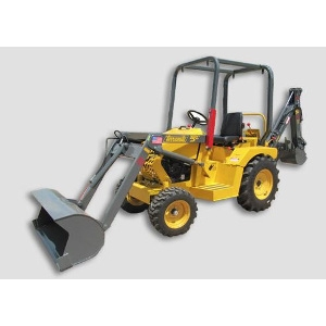 Compact Tractor, Loader, Backhoe
