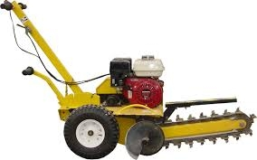 Trencher, 1 foot gas powered