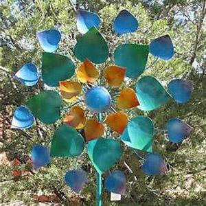 Regal 32'' Maha Rasa Kinetic Stake Pinwheel