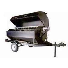 Towable Rotisserie Propane Grill