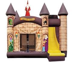 4 in 1 Inflateable bounce house