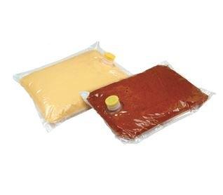 Nacho Cheese 140 oz bags. 2oz per serving