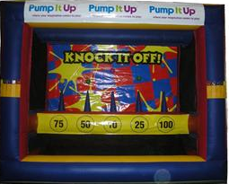 Games To Go, Knock It Off Inflatable Game