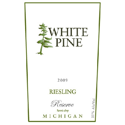 White Pine Winery 'Reserve Riesling'