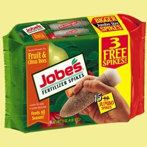 Jobe's® Fruit & Citrus Fertilizer Spikes 15-pack