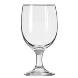 Libbey Embassy Glassware, Water Goblet 12oz