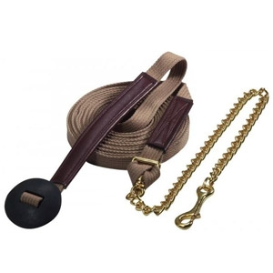 Ozark Cotton Lunge Line with Chain