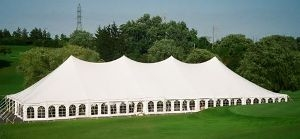 60' X 120' Single Center Pole Tent