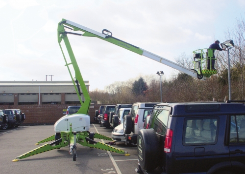 Niftylift TM42 Towable Boom Lift / Cherry Picker
