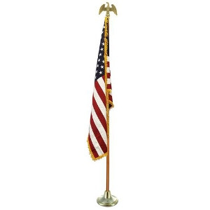 American Flag - 7 ft. Indoor
