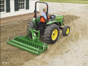 Frontier SP12, 6' Pulverizer Tractor Attachment