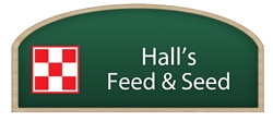 Hall's Feed & Seed Logo