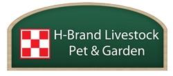 H-Brand Livestock, Pet & Garden Supply Logo
