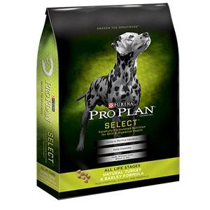Pro Plan® Select™ ALS Natural Turkey & Barley Formula