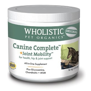 Wholistic Pet Organics Canine Complete Joint Mobility