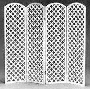 Divider, Arched Top Lattice 30