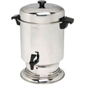 Beverage, 55-Cup Stainless Steel Coffee Urn
