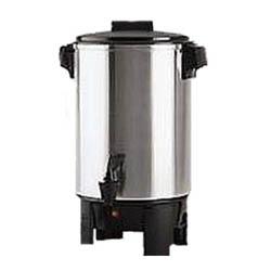 Beverage, 30-Cup Aluminum Coffee Urn