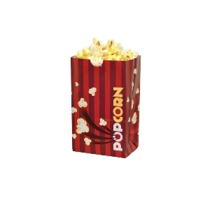 Concessions, Laminated Popcorn Bags, Set of 250, 32oz.
