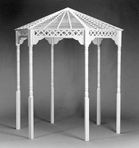Gazebo, Mt Vernon, White