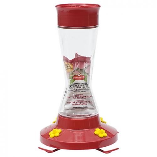 Perky-Pet® Pinch Waist Glass Hummingbird Feeder